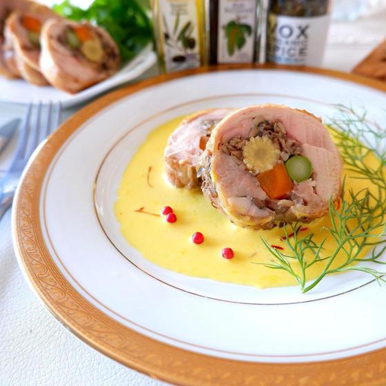 【カプリチョーザ】クリスマス♪チキン料理やミルフィーユポテト