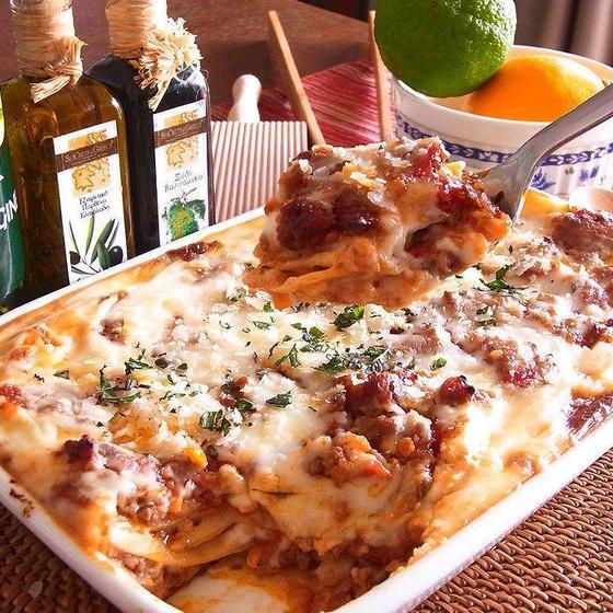 【カプリチョーザ】美味しく作れる!定番のラザニアやティラミス