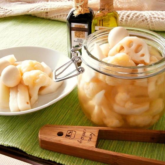 白いお野菜のピクルス