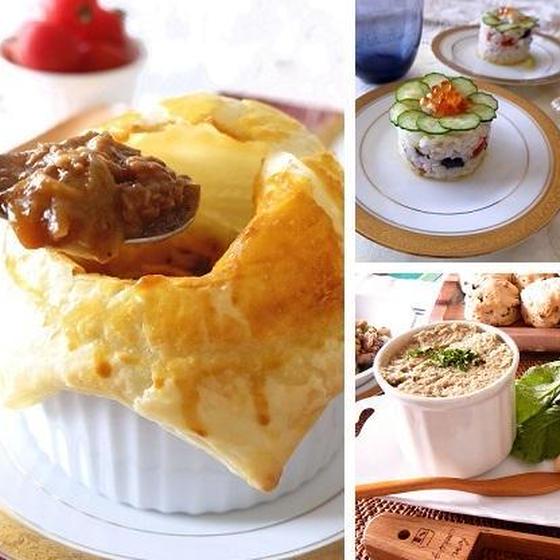 冬のイタリアンパーティー ポットパイやチキンのリエット全3品