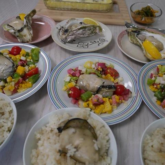 岩牡蠣をおなかいっぱい食べる会!今年も開催します。