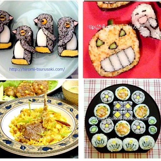 飾り巻き寿司/料理≪選択可≫体験・3級・2級・ハロウイン他