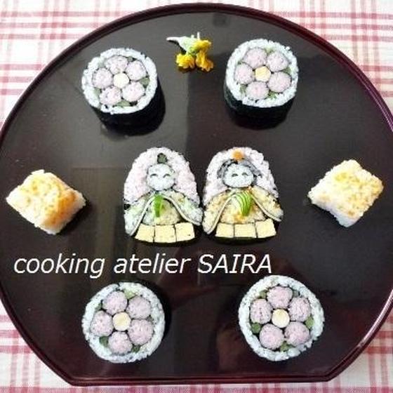 確≫ひな祭り◇飾り巻き寿司◇