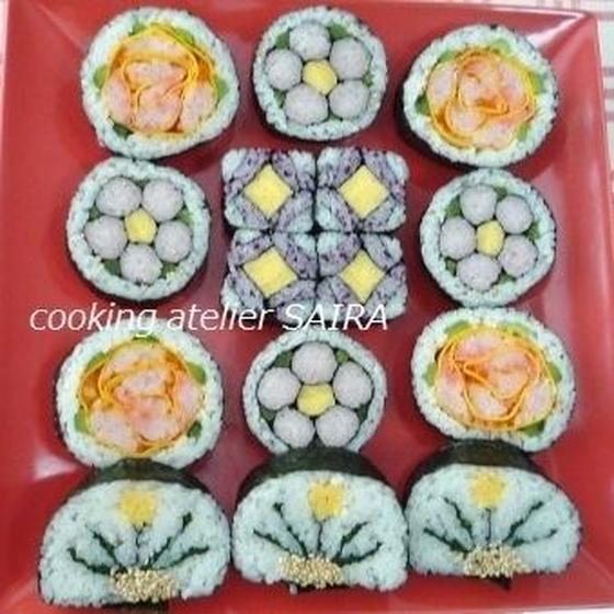 確≫3級JSIA◇飾り巻き寿司