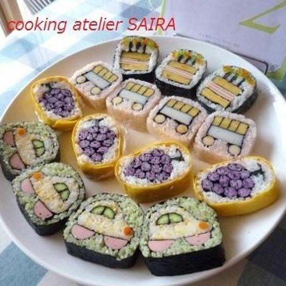 確≫2級一日目:JSIA認定講座◇飾り巻き寿司