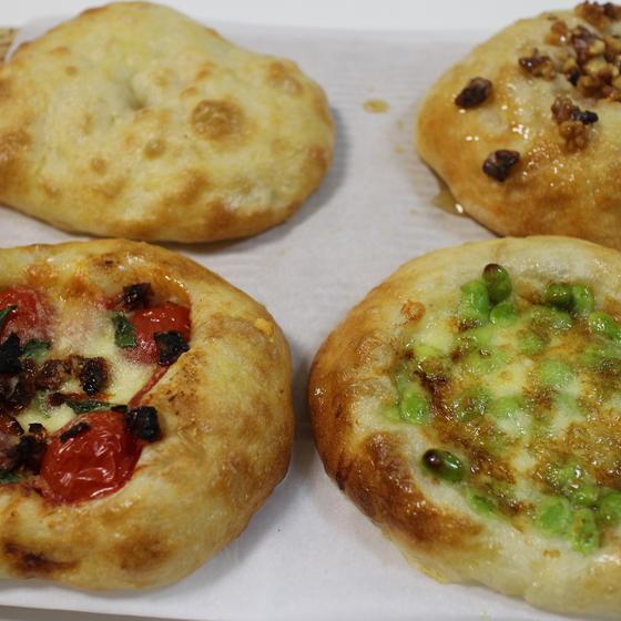 ホシノ天然酵母パンレッスン㉗  塩パン(中種使用)