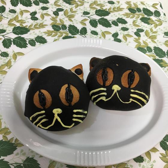 ハロウィン!イーストパンレッスン『黒猫ちゃん』