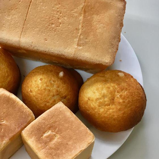 イーストパンレッスン『甘酒食パンと餡食パン&甘酒メロン』