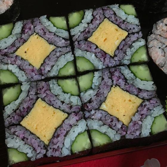 《スタジオ アマリジョさま》飾り巻き寿司レッスン