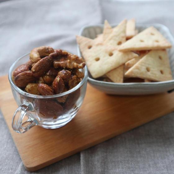 チーズクッキー&スパイシーナッツ