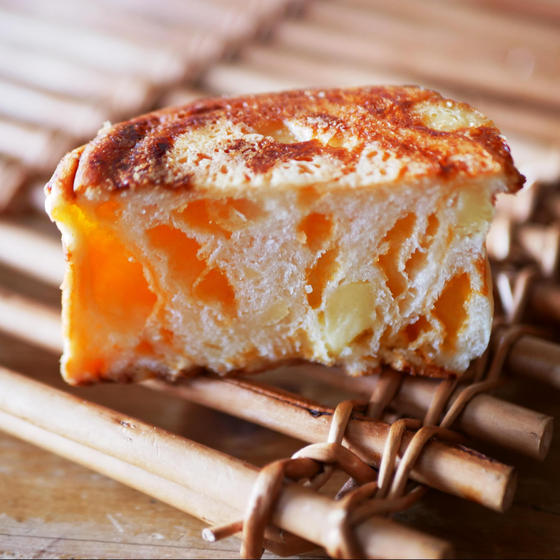 チーズインロール 断面