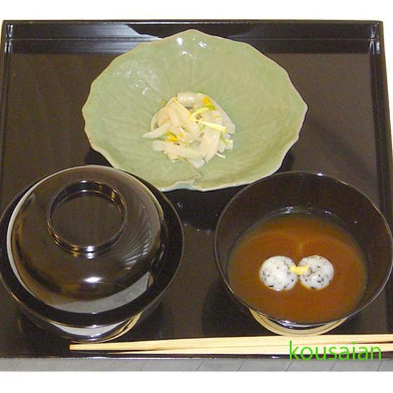 懐石料理 レシピ