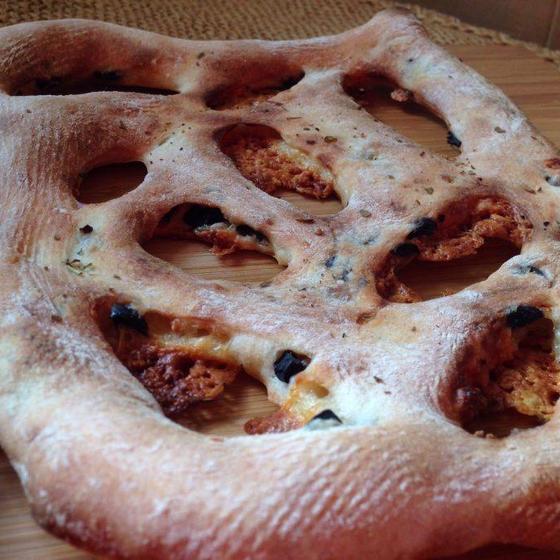 レーズン酵母で作るフガス と コンプレ フロマージュ ノア