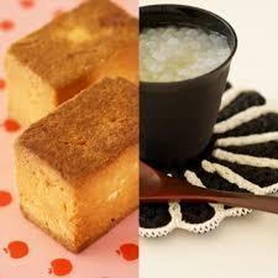 メロンプリンとパイナップルケーキ(鳳梨酥)
