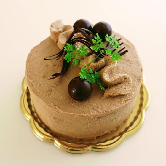 コーヒーデコレーションケーキ