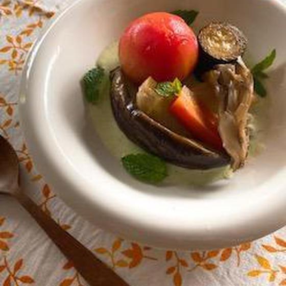 夏野菜使い切り♪マクロビオティックの冷製料理レッスン