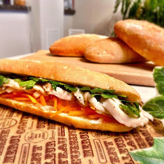ベトナムのパン♡バインミーとレバーペーストを作る会
