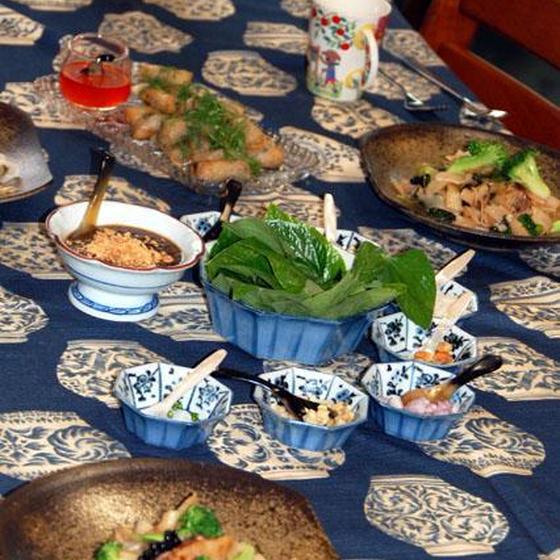 ハーブをたっぷりおいしく食べる、タイ料理レッスン