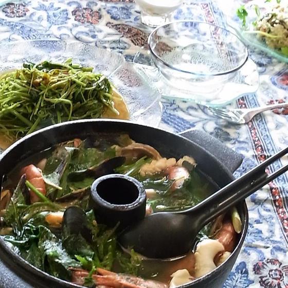 タイのシーフードレストランに行った気分になれるタイ料理教室