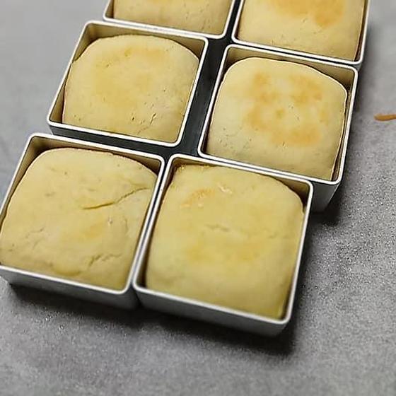 パイナップルケーキ、鳳梨酥- クッキー生地~成型~焼き 編