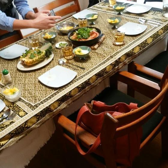 試食時のテーブル例