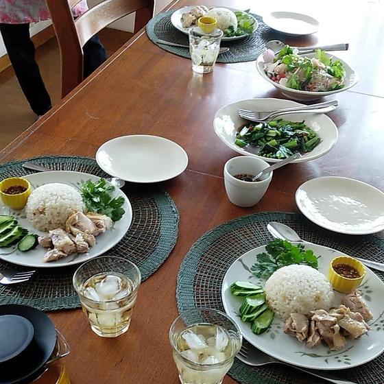 試食じのテーブル例