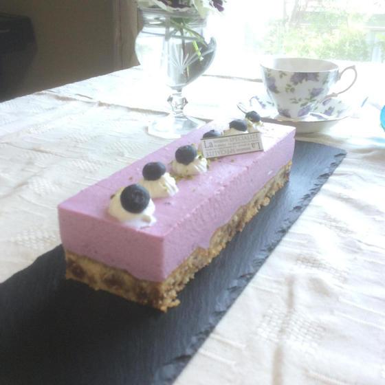 ケーキレッスン「ブルーベリーケーキ」