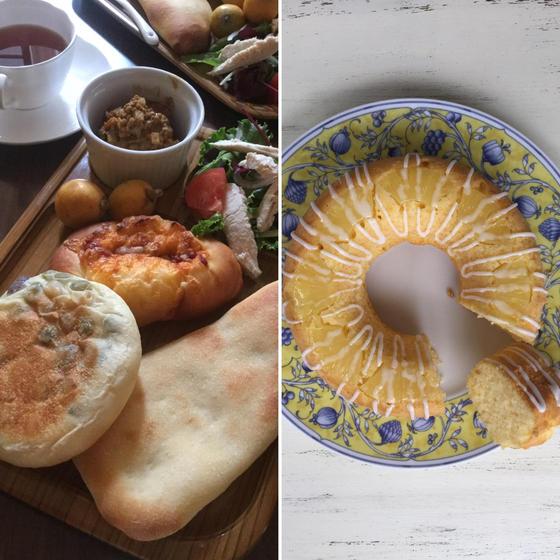 夏休み子供パン教室「キーマカレーとナン・リングケーキ」