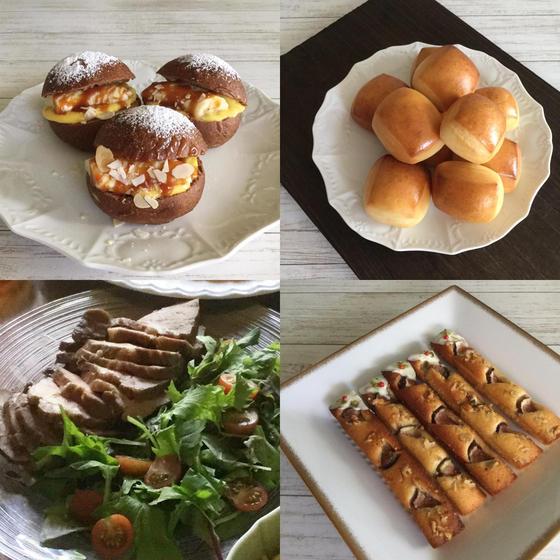 酒種酵母のキャラメルチョコバナナ、パヴェ(お子様連れok)
