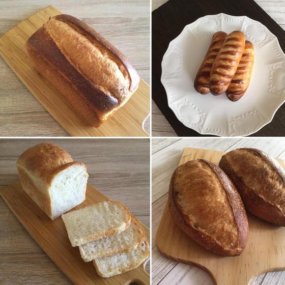 酵母パン4種レッスン