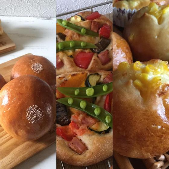 イーストパン4種