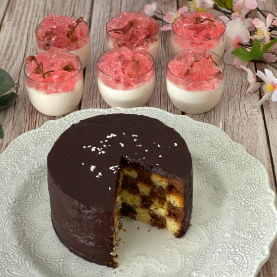 セバスチャンケーキとSAKURA