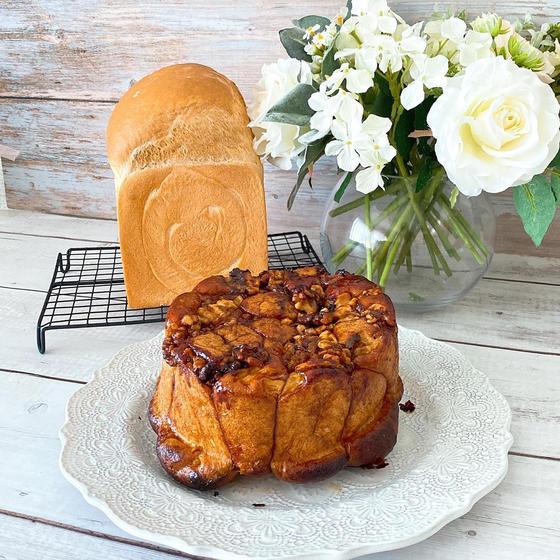 11月レッスン モンキーブレッドと練乳食パン