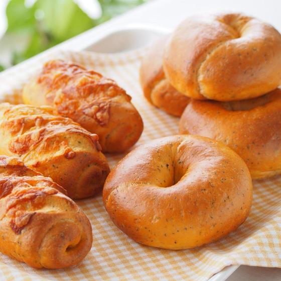 「イタリアンベーグル&ウィンナーベーグル」手ごねパンレッスン