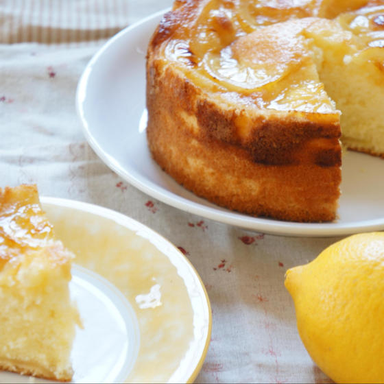はちみつレモンケーキ