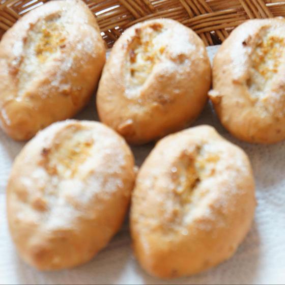 1day カリカリレモンとくるみのシュガーバターパンです。