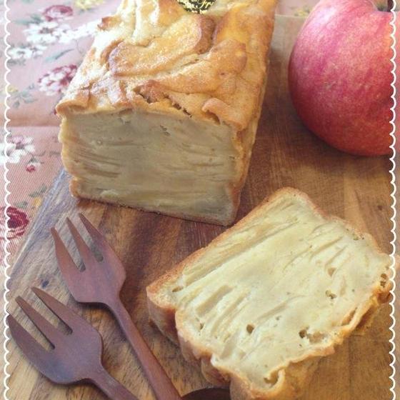 道産りんごのミルフィーユケーキ
