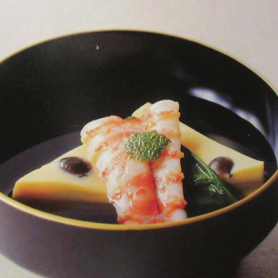6月の和食は初夏を迎えての爽やかな水無月椀等で