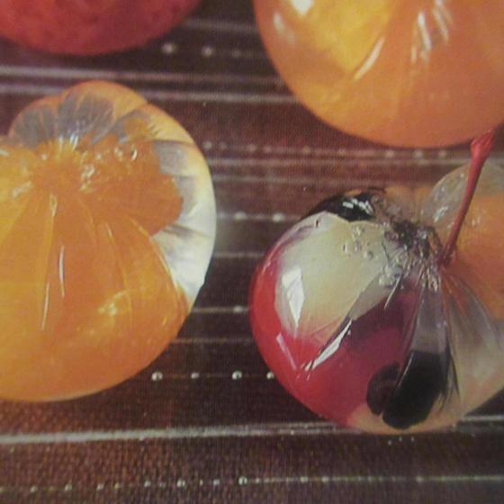 7月の和菓子は冷ややかな2種を作ります