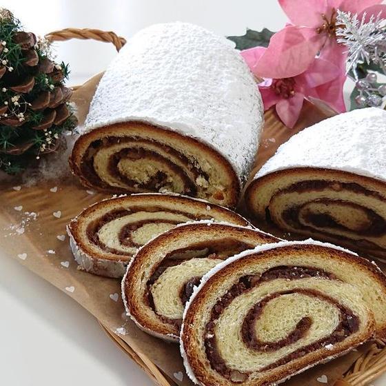 パン「ヌス・シュトレン」12月クリスマスお勧めレッスン♪