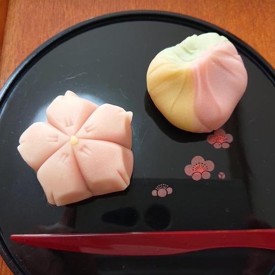 和菓子「練り切り~桜&春の山~」3月お薦めレッスン♪