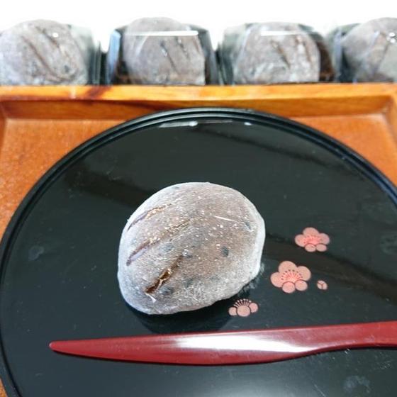 和菓子「亥の子餅」11月お勧めレッスン♪