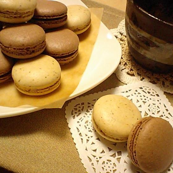 菓子「マカロン~カフェ・ショコラ~」2月お勧めレッスン♪