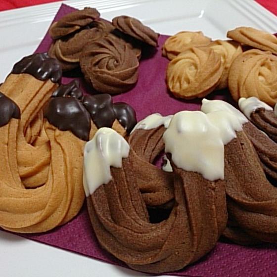 焼菓子「絞りクッキー~馬蹄&バラ~」1月お勧めレッスン♪