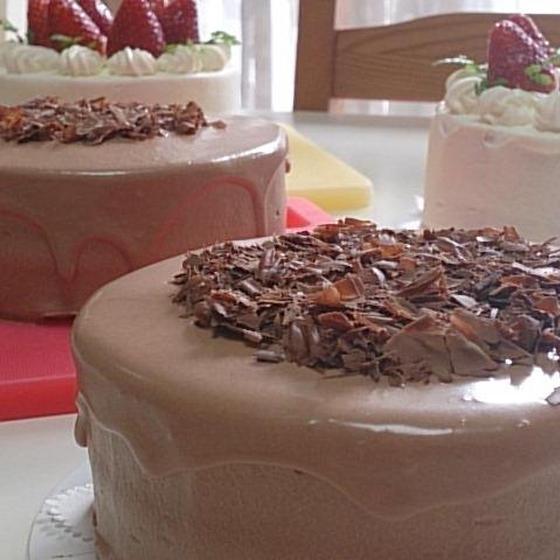 デコM「チョコレートケーキ」2月コースレッスン♪