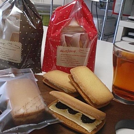焼菓子「レーズンバターサンド」6月お薦めレッスン♪