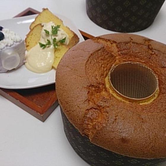 焼菓子「ココナツマンゴーシフォン」8月お勧めレッスン♪