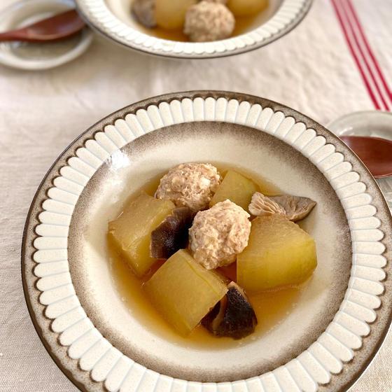 冬瓜と肉団子のスープ