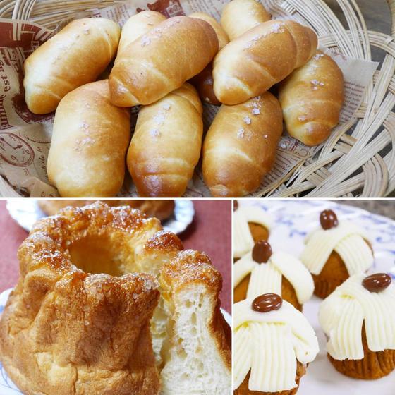 【7月ワンデイレッスン】夏のクグロフと大人気!塩パン