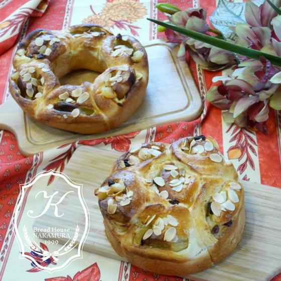 パンWレッスン♪りんごパン&ちくわパン